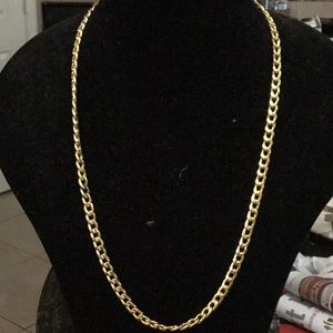 Very nice gold tone necklace